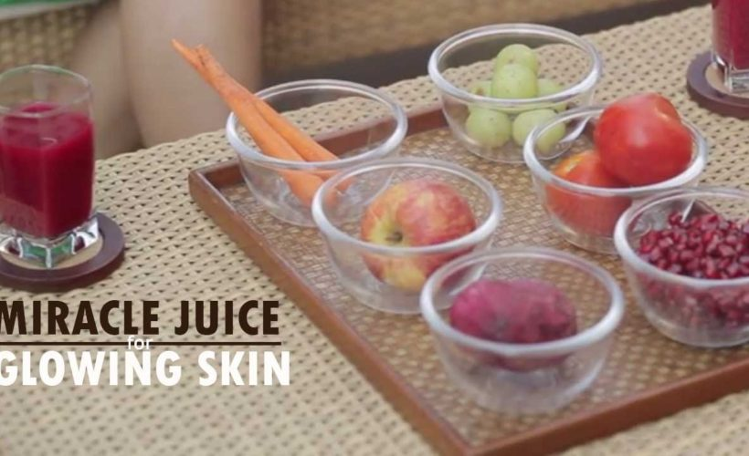 Miracle juice recipe for Glowing skin