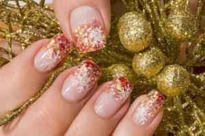 2 1 300x199 - 13 Fantastic Ideas About Christmas Nail Art Designs