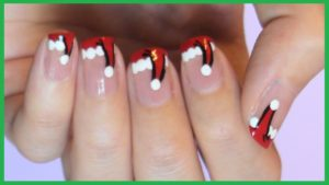 6 1 300x169 - 13 Fantastic Ideas About Christmas Nail Art Designs