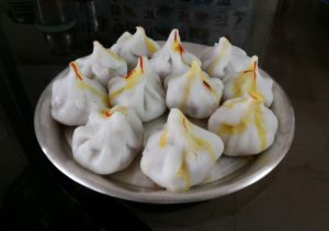 Modak offered to Lord Ganesh 300x211 - Ganesh Chaturthi Special Steamed Modak recipe For you