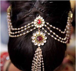 updos 300x280 - Most beautiful South Indian wedding hairstyles for Long Hair
