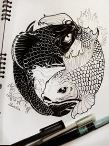 3 5 225x300 - That Fishy Tale tattoo designs