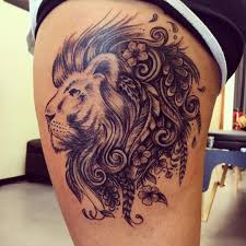 7 3 - The Trendy Seven Lions tattoos