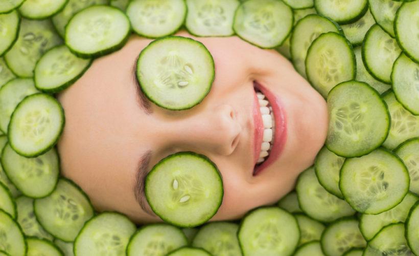 DIY Homemade Cucumber Cooling Spray