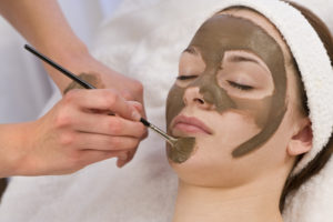 DIY homemade mud mask