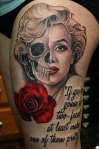 1 4 200x300 - Everything Marilyn Monroe Tattoo Designs for You