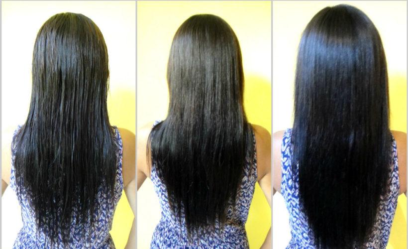 Take care of HairRebonding