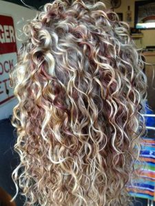 2 3 225x300 - Seven Kinds of Curly Perm Hairstyles