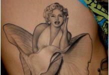 Marilyn Monroe Tattoo Designs