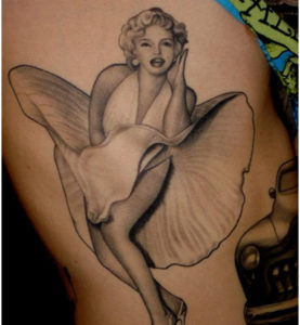 3 4 277x300 - Everything Marilyn Monroe Tattoo Designs for You