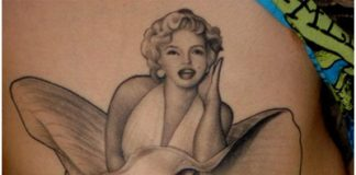 Marilyn Monroe Tattoo Designs