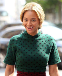 3 9 244x300 - Top Five Images of Beyonce without makeup