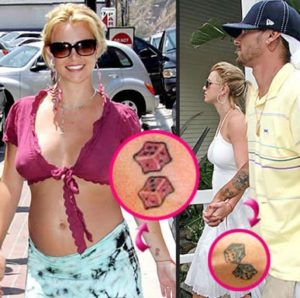 Britney Spears Tattoo Designs