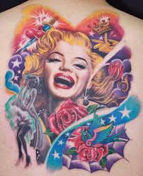 7 4 - Everything Marilyn Monroe Tattoo Designs for You