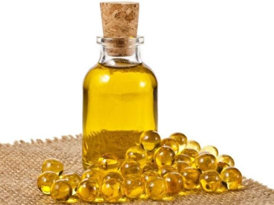 Fish oil as supplements