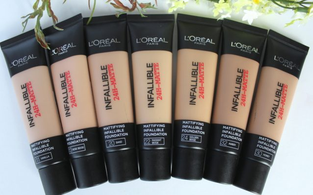 L'Oreal Infallible Pro Matte Foundation e1479387059798 - Find Out the Best Drugstore Foundation for Oily Skin