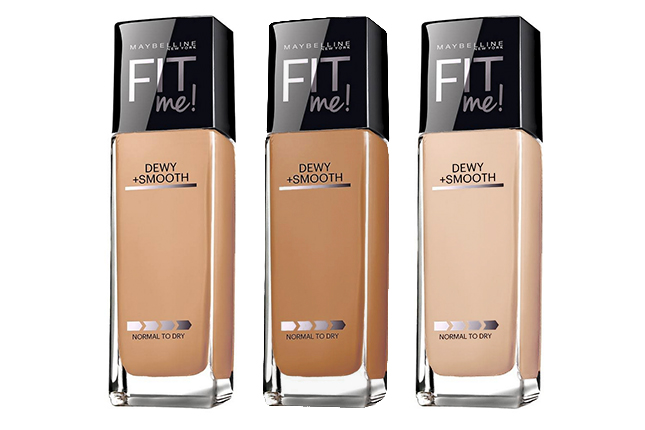 Maybelline Fit Me - Find Out the Best Drugstore Foundation for Oily Skin
