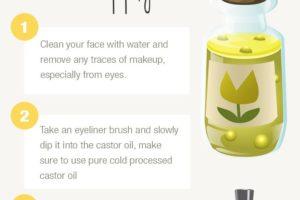 Castor Oil For Eyelashes To Make Longer And Thicker