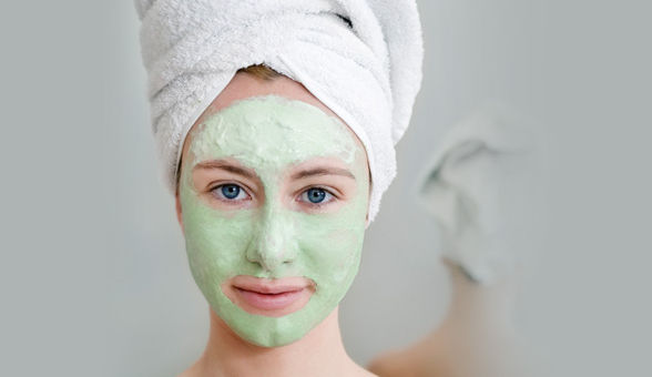 DIY Homemade French Green Clay Face Mask