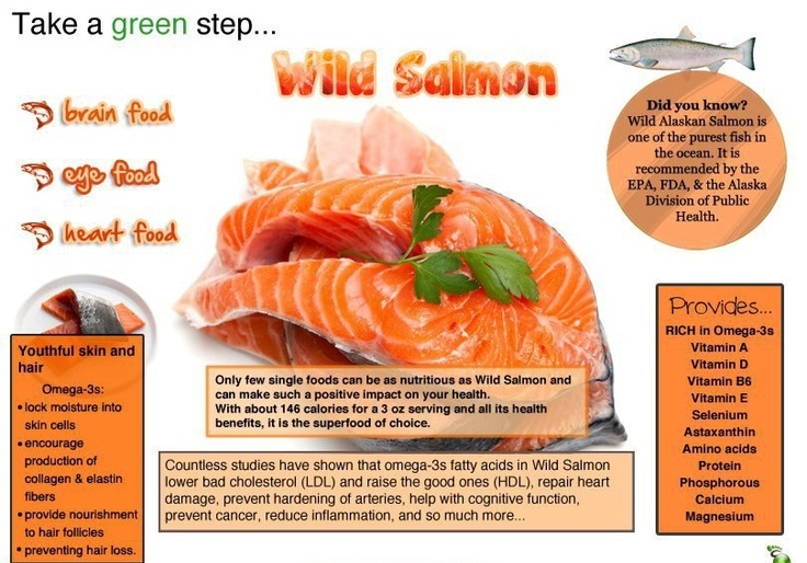 salmon - Amazing Health Benefits Of Wild Salmon Fish