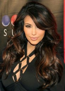 3 4 215x300 - Best Kim Kardashian Hairstyles For You!
