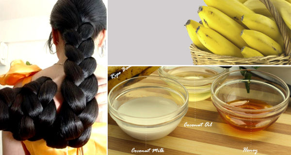DIY Banana Hair Mask