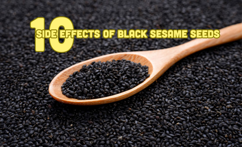 Top 10 Side Effects Of Black Sesame Seeds - Top 10 Side Effects Of Black Sesame Seeds