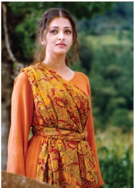 aishwarya rai in saffron dress taal sr400 small 400x400 imadhzcpkmgd4wge 1 - Aishwarya Rai Without Makeup Pictures