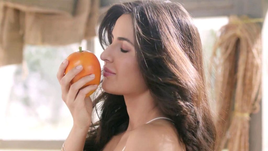 katrina kaif in tropicana slice alphonso ad 2015 1 1024x576 - Katrina Kaif Reveals Her Beauty And Fitness secrets