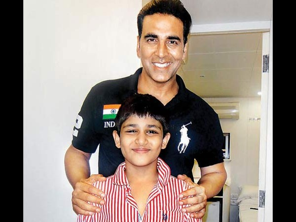 15 1442311738 akshay kumars condition to play a dads role on screen is hilarious2 - Top Most Popular Celebrity Kids In India