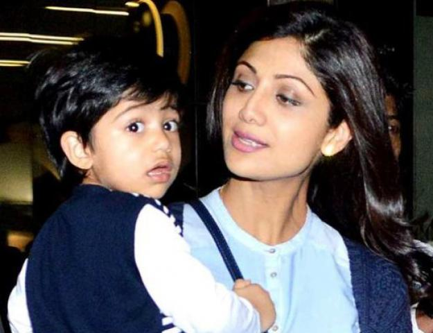 536499d42d94a Shilpa and Viaan 2 - Top Most Popular Celebrity Kids In India