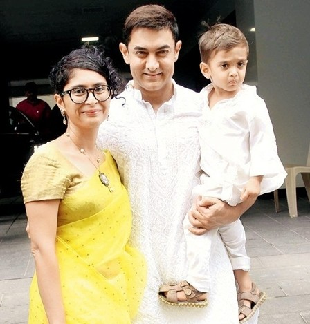 Aamir Khan Wife Kiran Rao 1 - Top Most Popular Celebrity Kids In India