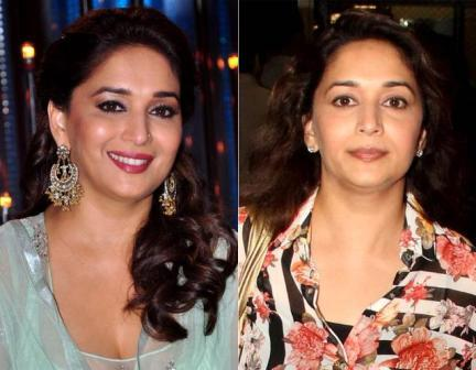 Madhuri Dixit without makeup - Madhuri Dixit Pictures Without Makeup