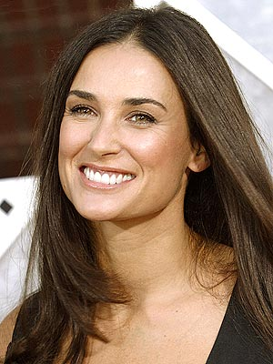 demi moore 1 - Top Hollywood Actresses Without Makeup