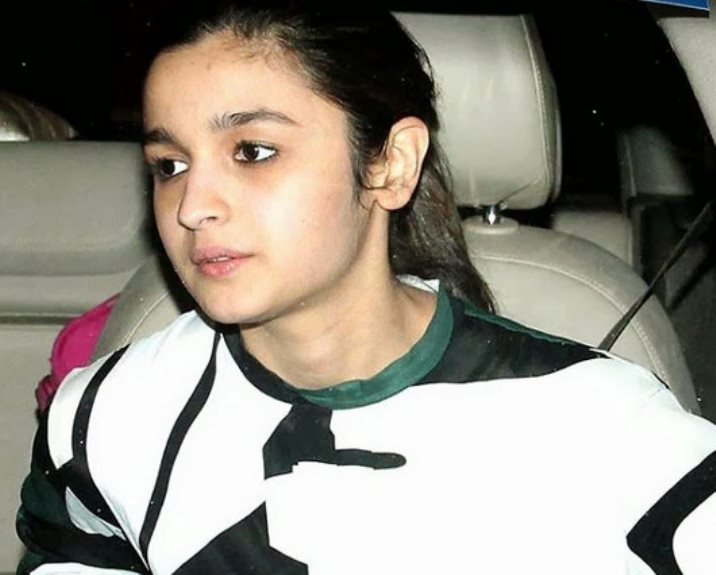 Alia Bhatt without Makeup Images
