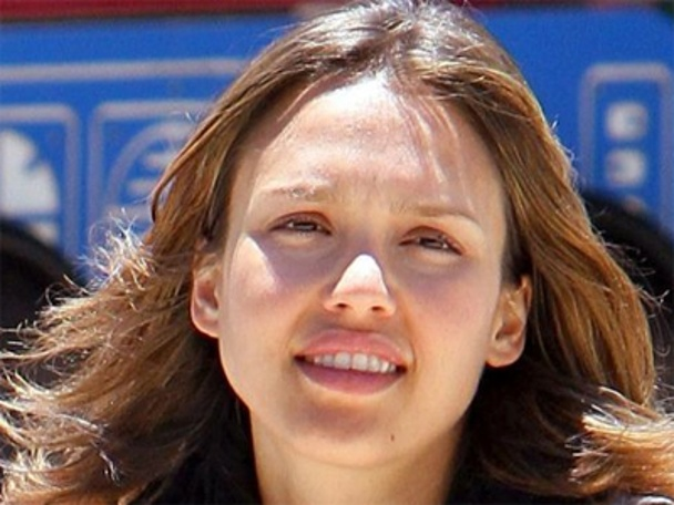 jessica alba no makeup - Top Hollywood Actresses Without Makeup