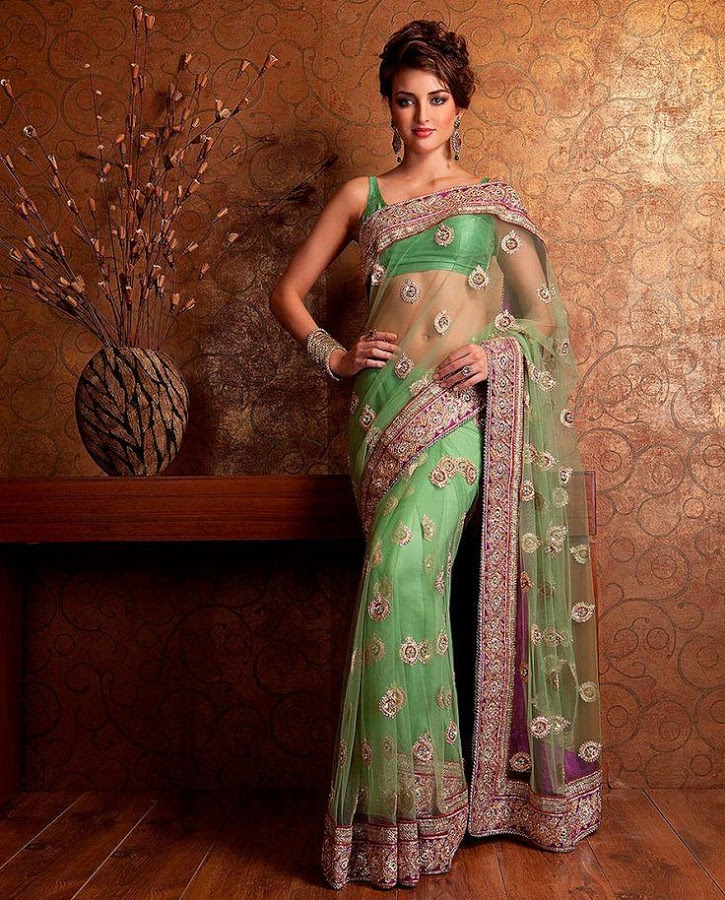 unnamed - Latest Indian Saree Styles In 2017