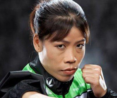 MC mary kom - Top Most Female Sports Celebrities In India