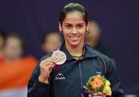 Sports Celebrity Saina Nehwal - Top Most Female Sports Celebrities In India