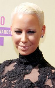 2 5 188x300 - Short and stunning hair styles  Of Amber Rose Hair