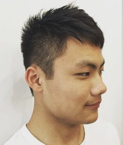 4 3 255x300 - Trendy Hairstyles for Young Asian Men and Women