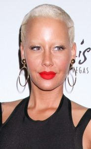 4 4 184x300 - Short and stunning hair styles  Of Amber Rose Hair