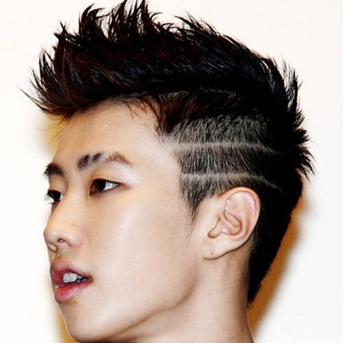 Asian Men Haircut 12 500x500 - Trendy Hairstyles for Young Asian Men and Women