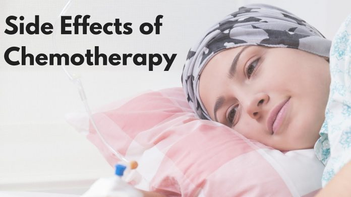 Side effects of chemotherapy on the body