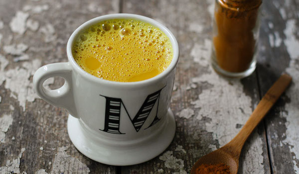 Hot Milk with Turmeric - Best Home Remedies for Croup in Children