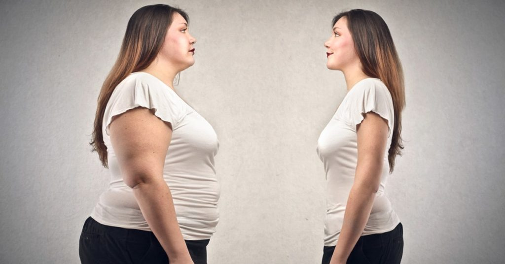 obese vs thin woman facebook 1024x536 - 11 Benefits and 7 Dangers of Fasting for Weight Loss