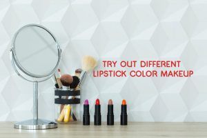 Try out Different Lipstick Color Makeup