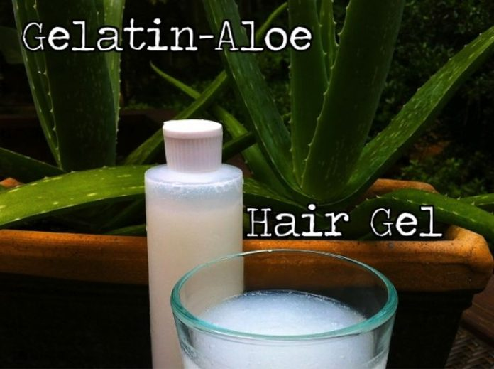 DIY Homemade Natural Hair Gel for Winter