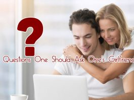 Questions One Should Ask One's Girlfriend