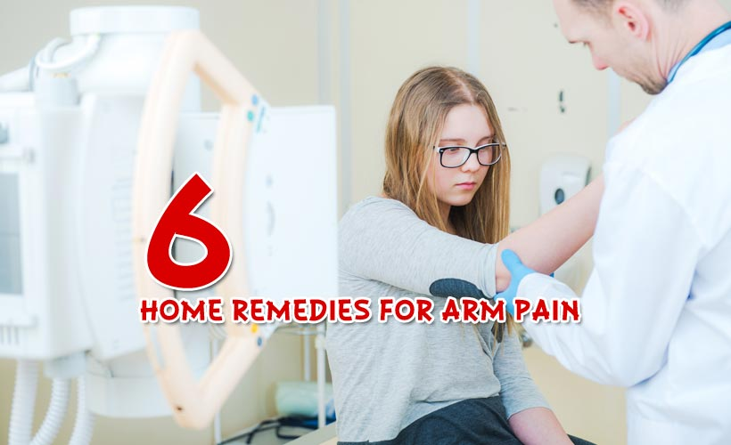 6 Home Remedies for Arm Pain